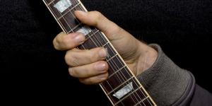 main-guitariste